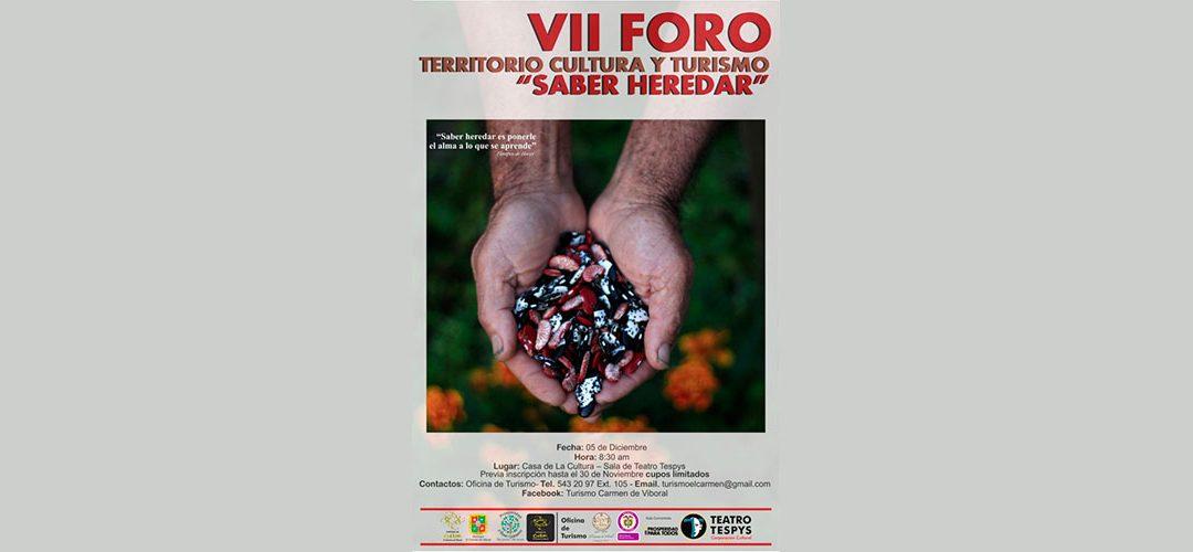VII Foro Territorio, Cultura y Turismo