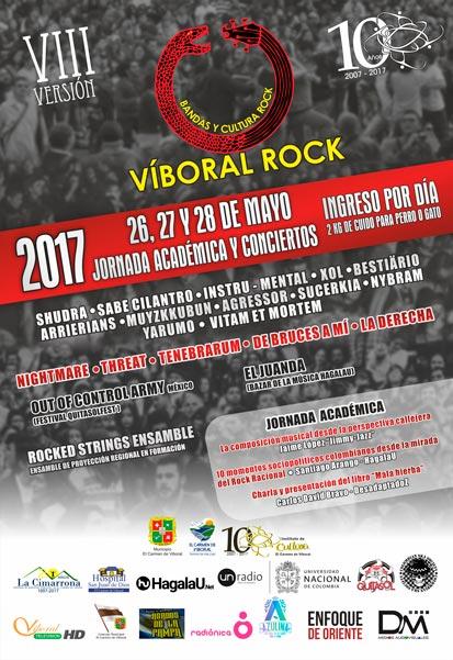 afiche oficial evento viii viboral rock web