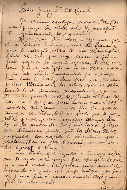 descripcion archivo historico