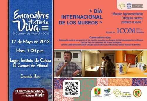 """Séptimo Encuentro Historia Viva """"Día Internacional de los Museos"""""""