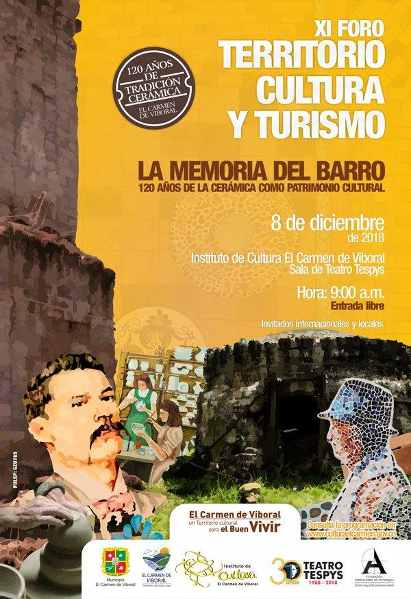 Afiche foro turismo