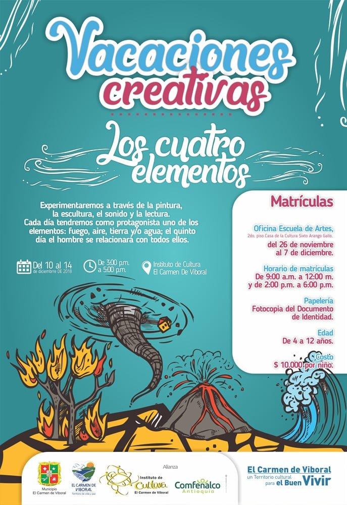 Vacaciones creativas web
