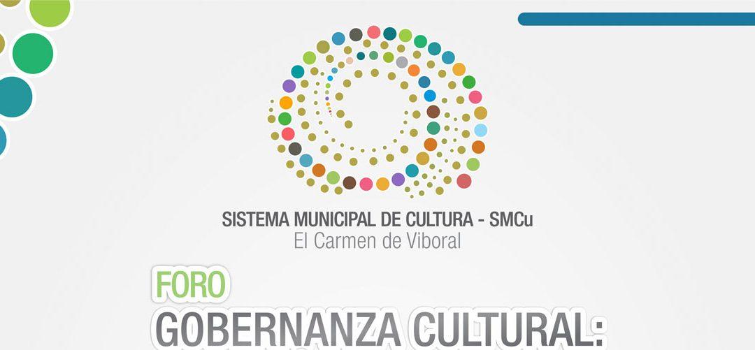 """Foro """"Gobernanza cultural: ciudadanía para el Buen Vivir"""""""