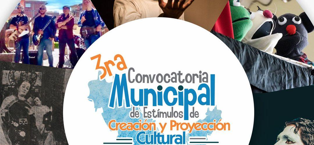 Socialización propuestas 3ra. Convocatoria Municipal de Estímulos de Creación y Proyección Cultural 2018