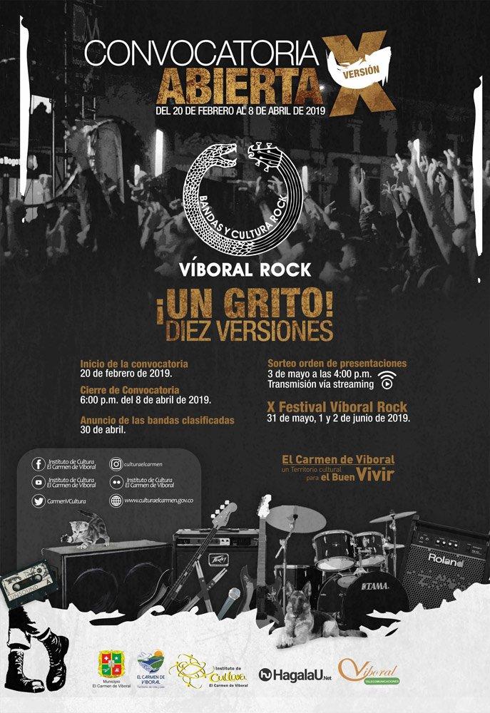 afiche convocatoria x viboral rock 2019 2web