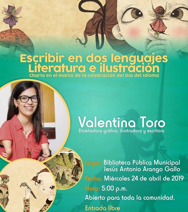 Escribir en dos lenguajes. Literatura e ilustración