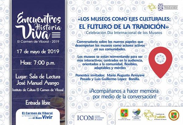 """Decimoprimer Encuentro Historia Viva """"Día Internacional de los Museos"""""""