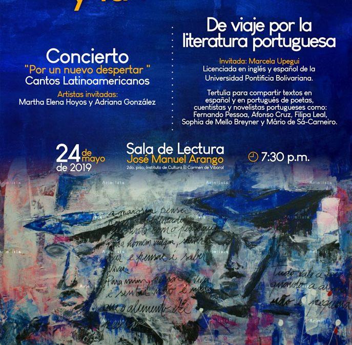 De viaje por la literatura portuguesa –  Las Palabras y la Noche, mayo 2019