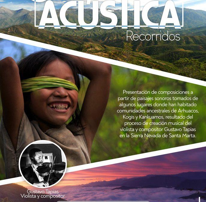 """""""Recorridos"""" – Sala Acústica septiembre de 2019"""