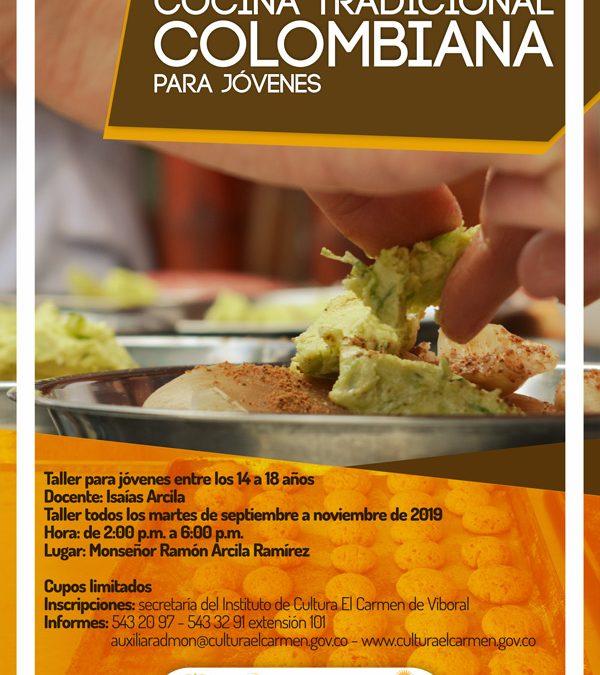 Talleres de cocina tradicional colombiana