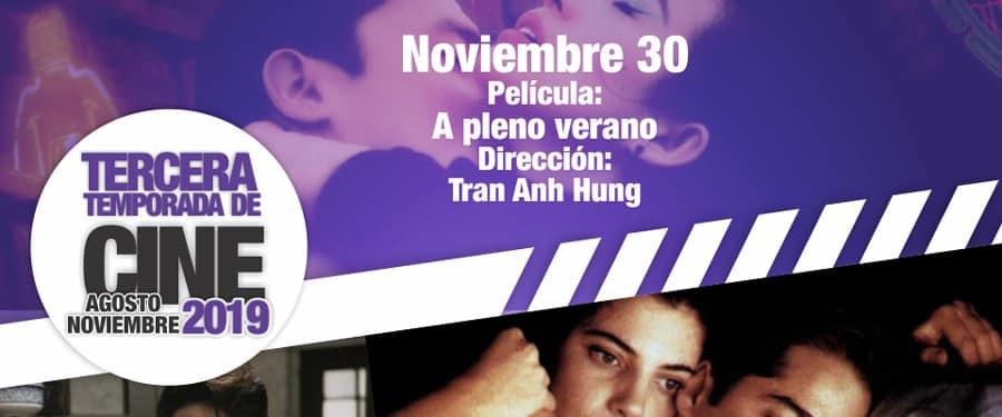 ¡Última película del año, hoy sábado 30 de noviembre!