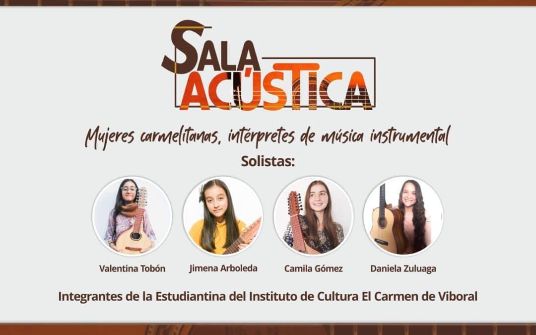 Mujeres carmelitanas, intérpretes de música instrumental
