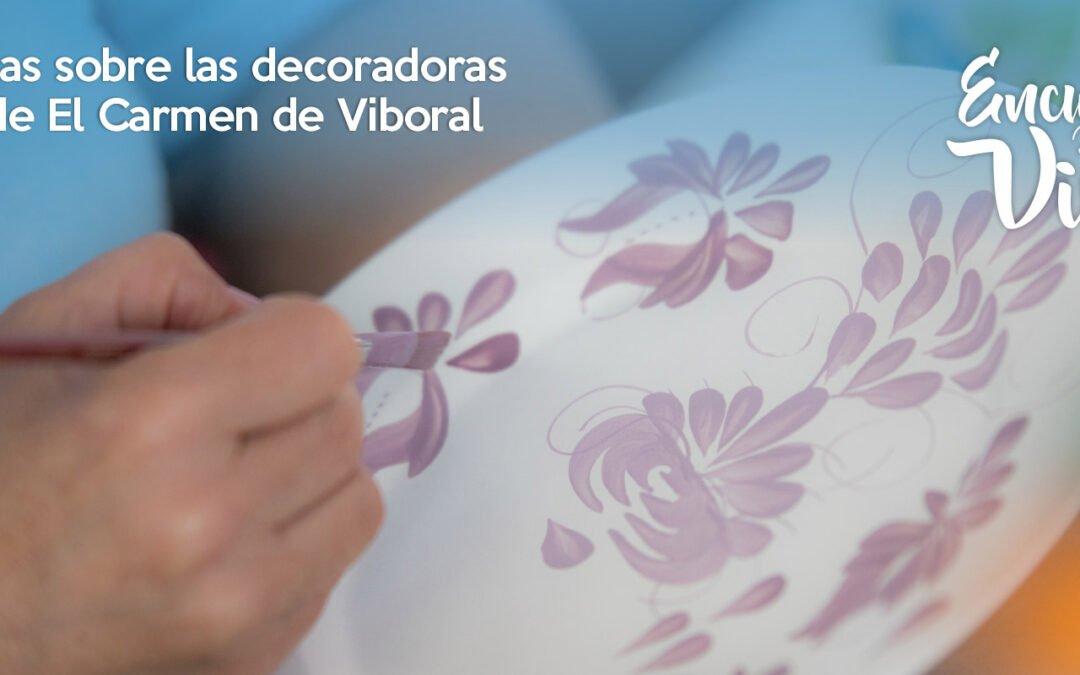 Experiencias sobre las  decoradoras de loza de El Carmen de Viboral