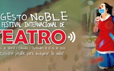 La calle como escenario – XXV Festival Internacional de Teatro El Gesto Noble