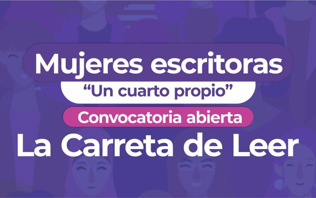 """TALLERES LA CARRETA DE LEER MUJERES ESCRITORAS  """"UN CUARTO PROPIO"""""""