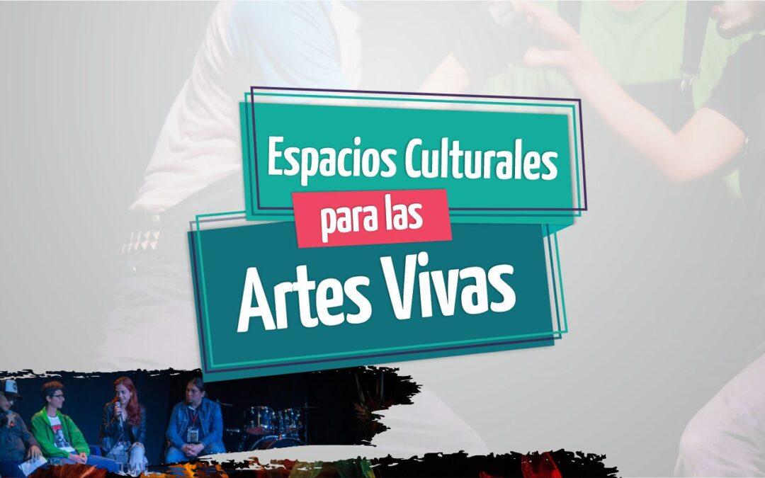 Convocatoria Municipal de Concertación de Espacios Culturales para las Artes Vivas 2020