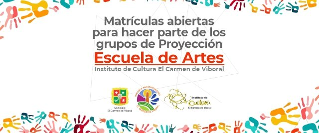 Se abrirán matrículas para hacer parte de los grupos de Proyección del Instituto de Cultura El Carmen de Viboral