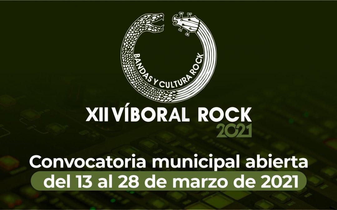 Abierta convocatoria municipal 2021 XII Víboral Rock 2021
