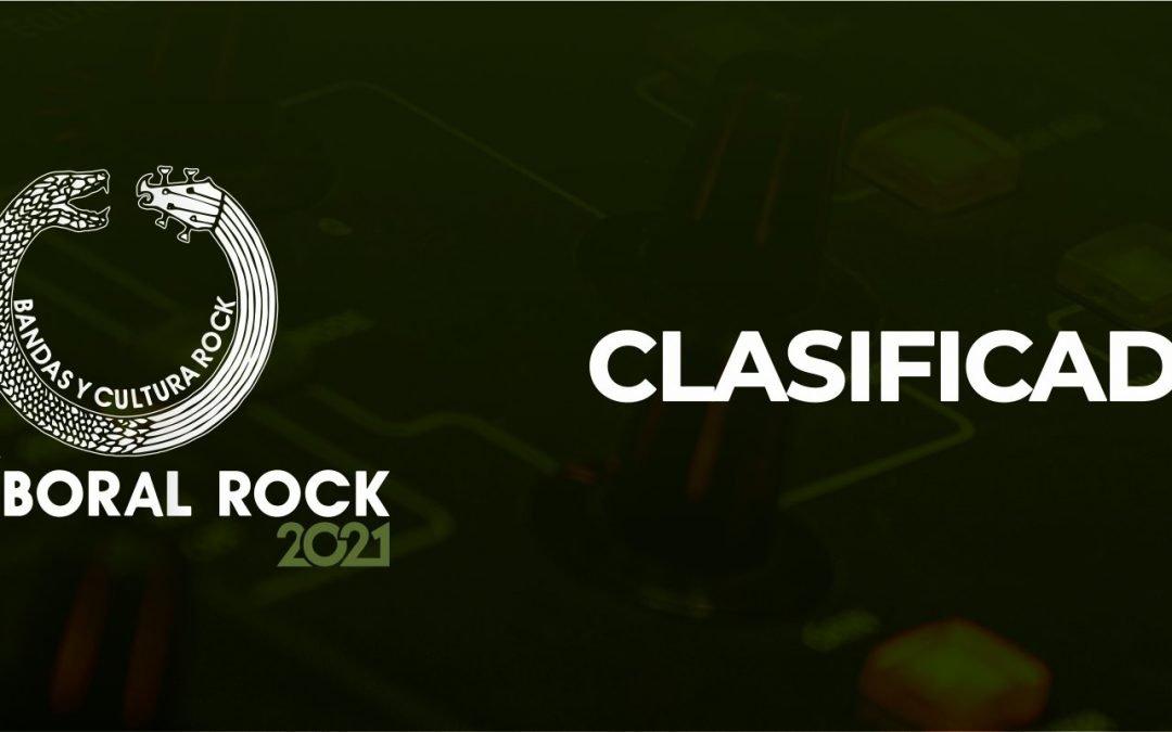 Clasificados XII Víboral Rock 2021