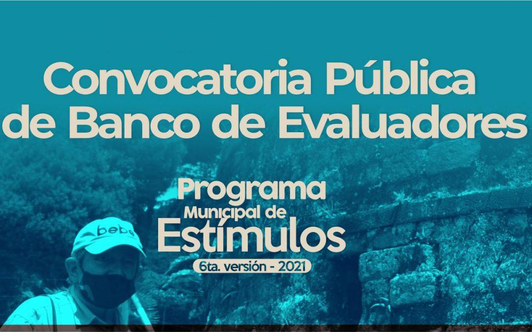 Abierta convocatoria Pública de Banco de Evaluadores